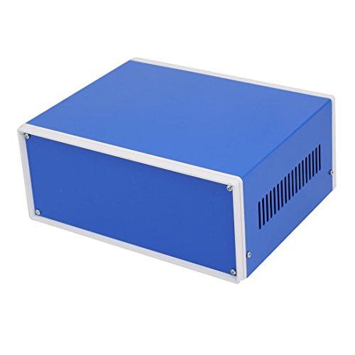 sourcing map 230mm x 185mm x 100mm Boîtier raccordement Projet électronique boîte Bleu