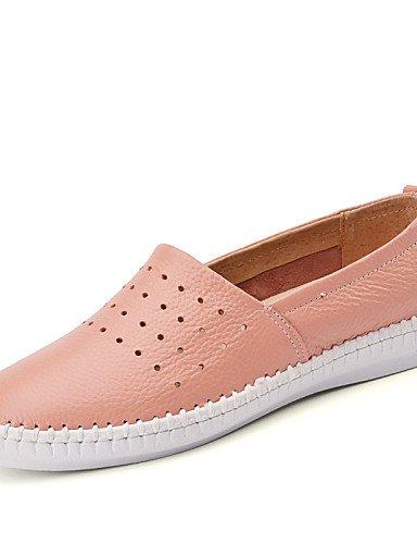 ZQ gyht Scarpe Donna-Ballerine-Tempo libero / Formale / Casual-Comoda-Piatto-Pelle-Nero / Rosa / Bianco , pink-us8.5 / eu39 / uk6.5 / cn40 , pink-us8.5 / eu39 / uk6.5 / cn40 pink-us5.5 / eu36 / uk3.5 / cn35