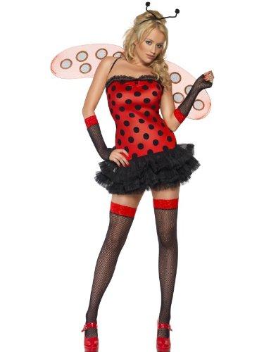 Kostüm Heißer TUTU Marienkäfer Käfer Gr. S = (Lady Sexy Bug Erwachsene Kostüme)