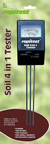 Luster Leaf 1880Rapitest Elektronische 4-Wege-Analysegerät
