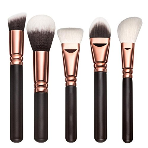 OVERMAL 5 PCS Brosse pour maquillage