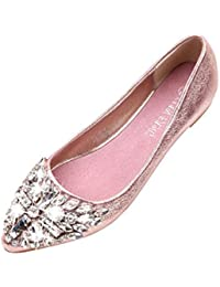 Scarpe Scarpe da Rosa donna borse it Amazon e Mocassini Ywt1Wq