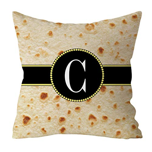 Kobay Home Deko Wohnzimmer Fashion Food Creation Mexican Burritos Pillowcase Sofa Cushion (45cm x ()