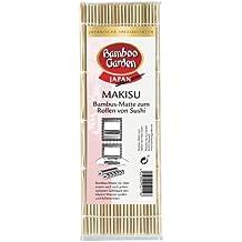 Bamboo Garden Makisu–Esterilla bambú para rollos de sushi, 3unidades, nº l0903