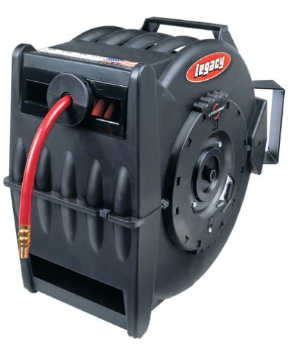Legacy L8305 Levelwind 3/8 x 50' Retractable Air Hose Reel by Legacy Manufacturing -
