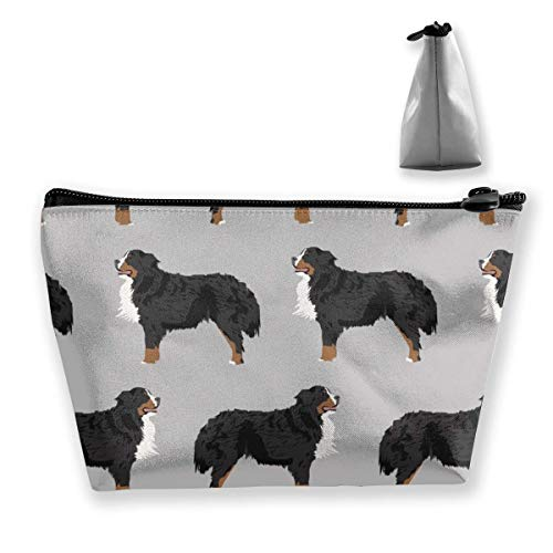 Bernese Mountain Breed Design Dog Beauty Travel Make Up Bags Toiletry Case with Zipper