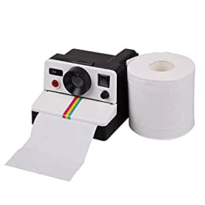 SHENNOSI® Polaroll Camera Toilet Paper Roll Holder by SHENNOSI®