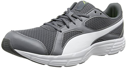Puma Axis V4 Grid, Sneakers Basses Mixte Adulte Gris (Quiet Shade-puma White 02)