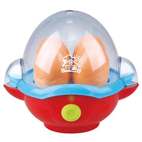 Bavaria-Home-Style-Collection Spielzeug-Eierkocher mit Zubehör - mit 4 Eier - Egg Cooker Küchenspielzeug mit Sound - Kinder Spielzeug ab 3 Jahre - Geschenk Idee Geburtstag , Ostern , Weihnachten