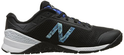 New Balance Minimus 40 Trainer, Scarpe Sportive Indoor Donna Black/Fin