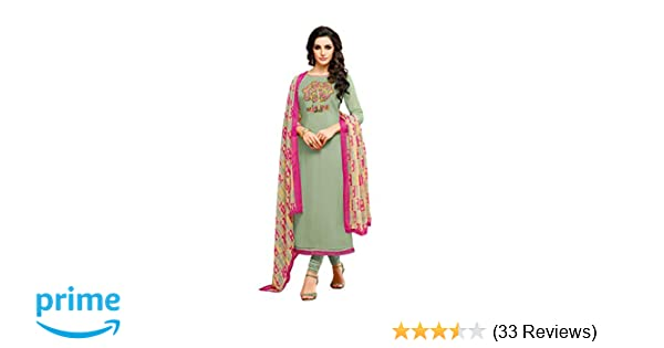 c9fd8a41cd Oomph! Women's Dress Material (mfdm22_727_Green_Free Size): Amazon.in:  Clothing & Accessories
