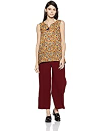 Amazon Brand- Myx Women's Asymmetrical Hemline Kurta
