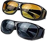 IPRIME Set mit 2 Paar Day Vision & Night Vision Schärfbrillen