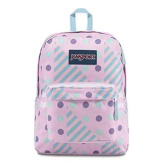 JanSport Superbreak Backpack – Ice Cream Geo – Classic, Ultralight