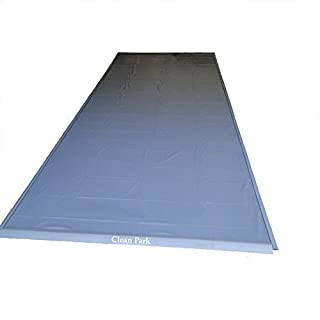 Auto Care Products 70049 Clean Park 4.5' x 9' Heavy Duty Motorcycle/Golf Cart Mat with 50-mil Vinyl Sheeting by Auto Care Products Inc.