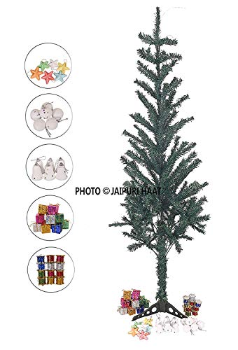 Jaipuri Haat 3 Feet Christmas Tree Withtree Decoration Items For