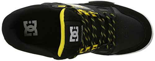 DC Skateboard Shoes STAG 2 WHITE/BLACK/ARMOR Black/Yellow
