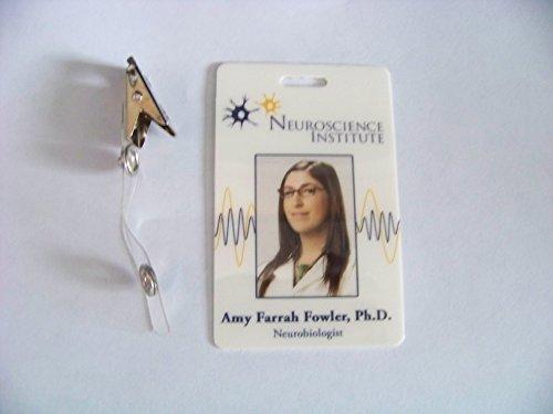 The Big Bang Theory , Neurobiologist Amy Farrah Fowler Ph.D. , ID - Karte , ID Badge