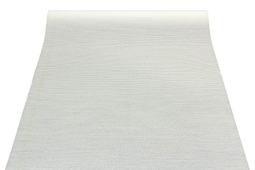 Glasfaser Tapete 25qm ÖKO-Tex Glasfasertapete Vlies 3356-01 Leinwandbindung