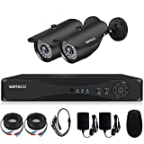 [TRUE 1080p HD] SANSCO 4 Channel 1080P DVR Recorder CCTV Security System