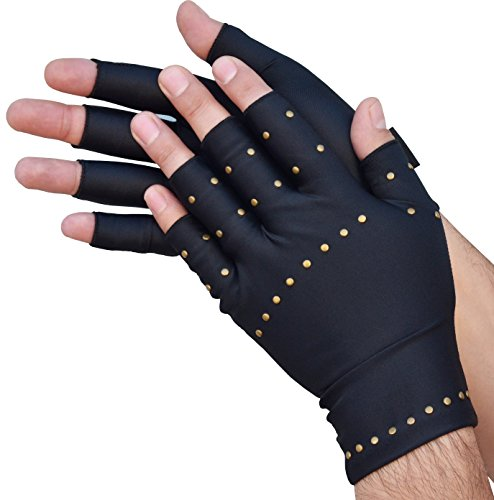 Medipaq Anti ARTHRITIS Handschuhe mit KUPFER Therapie Kompression