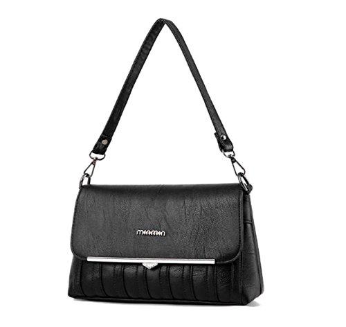 Dame Handtasche Schultertasche Kuriertasche Einfach Modisch Einfach Temperament Kettenbeutel C
