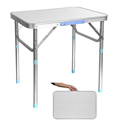Ultrey Campingtisch Klappbar Aluminium Picknicktisch Klapptisch Camping Falttisch tragbar
