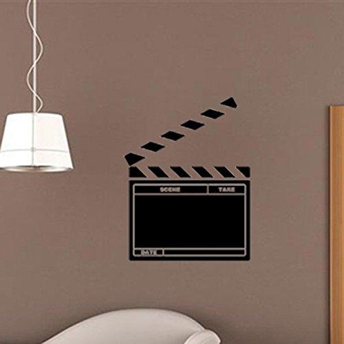 afel Aufkleber Film Feld Rekord Bord kreative Wandaufkleber 57 × 51cm ()