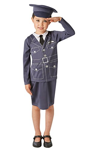 (Rubie 's Offizielles WRAF Girl Kostüm Mädchen klein Alter 3-4)