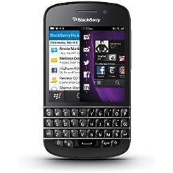 BlackBerry Q10 Smartphone débloqué 4G (Ecran: 3.1 pouces - 16 Go - BlackBerry OS 10) Noir