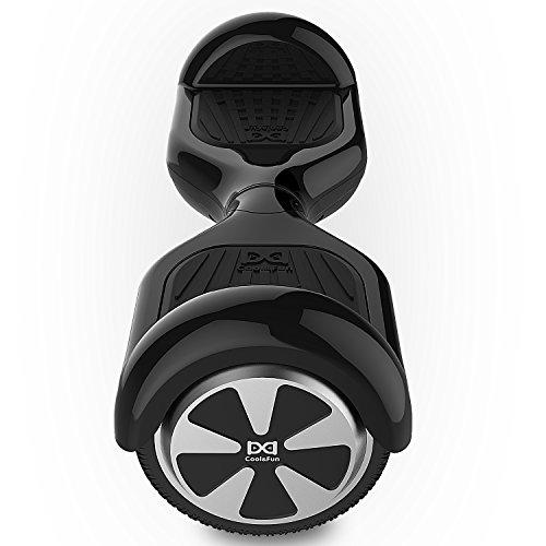Cool&Fun Hoverboard Elektro Scooter E-Balance E-Skateboard 6,5″ (Black) - 2