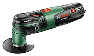 Bosch Outil multifonction PMF 250 CES 250W, accessoires, fonction Autoclic, interface Starlock 0603102100