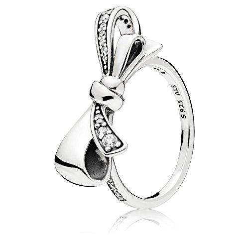 Pandora Damen-Ringe 925 Sterlingsilber zirkonia \'- Ringgröße 58 (18.5) 197232CZ-58