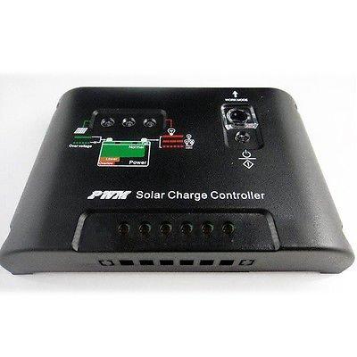 Generic 10A Solar Panel Akku Regler Controller, 12 V/24 V, automatische Umschaltung EU<1&1761*1> -