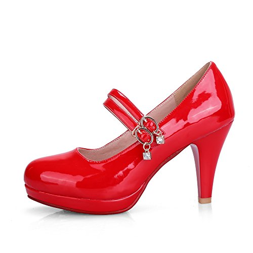 Adee , Damen Pumps Rot