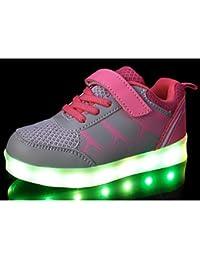 aemember Boys 'zapatos ETTE primavera caída comodidad Zapatillas de Casual, color rosa, amarillo y naranja, US9 / EU25 / UK8 Toddle, rosa