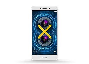 Honor 6X Pro Smartphone portable débloqué 4G (Ecran: 5,5 pouces - 64 Go - Double Nano-SIM - Android 6.0 Marshmallow) Argent