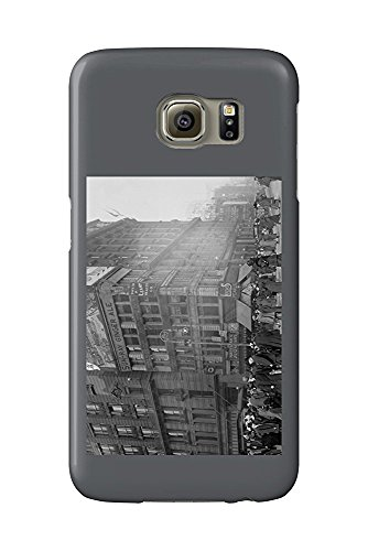 Million Dollar Corner on 34th and Broadway Photograph (Galaxy S6 Cell Phone Case, Slim Barely There)