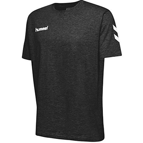 hummel Kinder HMLGO Kids Cotton T-Shirts, Schwarz, 164