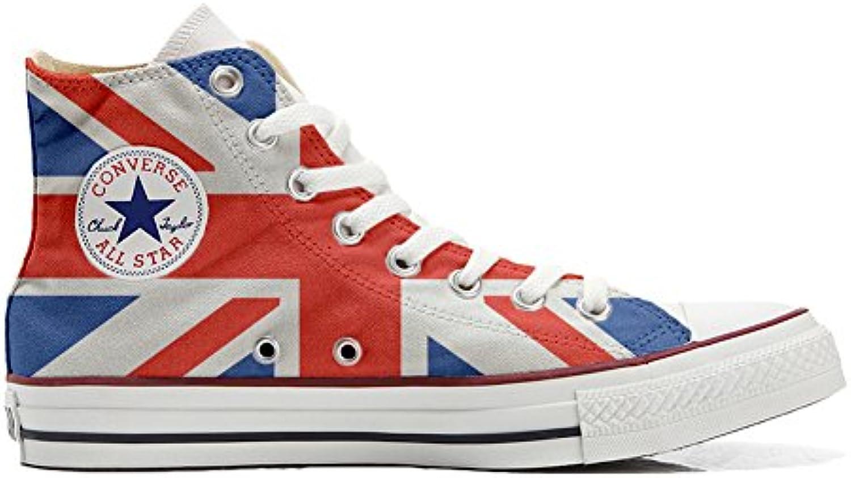 Shoes Custom Converse All Star  personalisierte Schuhe (Handwerk Produkt) US Flagge