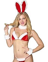 """Weihnachts-Kostüm /""""Santa/"""" Christmas Set Weihnachtsmann Outfit von Hamana 3-tlg"""