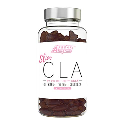 41kV3a0KUSL. SS500  - Sim CLA - 60 x 1000mg Maximum Strength CLA Capsules - CLA Tablets To Help Boost Metabolism, Blast Stubborn Body Fat & Support Overall Health - Made in the UK - Includes FREE Fat Buster Workout Program