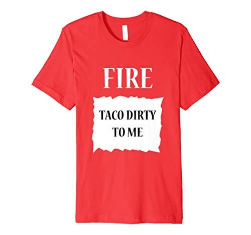 (Fire Hot Sauce Gruppe Halloween-Kostüm T-Shirt)