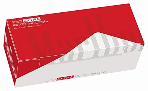 TRA (4 x 250er Hülsen) Filterhülsen,Zigarettenhülsen ()