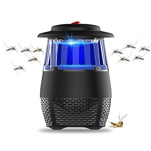 TSYMQ Falle Mörder Zapper Nacht Lampe Lichter, elektrische Fly Bug Zapper Moskito Insektenvernichter, LED-Licht Falle Lampe Schädlingsbekämpfung, für Home Schlafzimmer Terrasse Garten Büro BU -