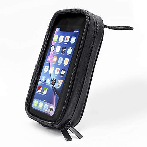 WOSAWE Motorrad-Telefon-Navigationssäcke wasserdichte Magnetische Touchscreen Tankrucksack für iPhone XS MAX, Galaxy S9 S8 und unter 7,5 Zoll Telefon