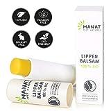 Naturkosmetik Lippenpflege, 100% natürlicher, biologischer Lippenbalsam von MANAT - nach NATRUE zertifizierte Biokosmetik
