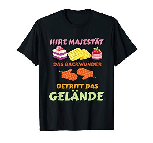 Backwunder I Cupcake Muffin Torten Bäcker Lebkuchen Süß Brot T-Shirt
