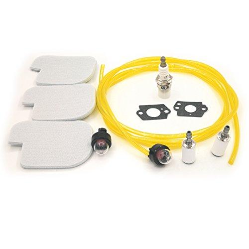 Shioshen Kraftstoff-Luft-Filter Rebuild Kit für Poulan P3314 P3416 P3816 P4018 PP3416 PP3516 PP3816 PP4018 PPB3416 PPB4018 PPB4218 S1970 Gas Kettensäge