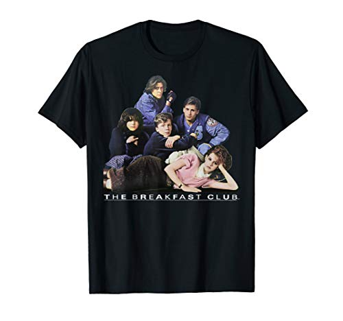 Breakfast Club Group Portrait T-shirt for male or female